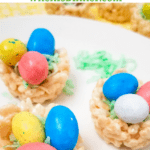 Easter Nest Rice Krispies Treats PIN
