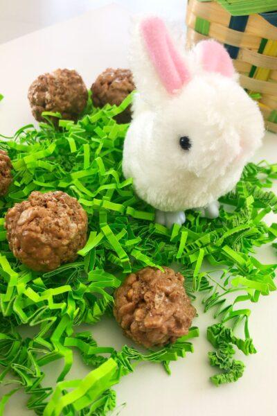 Easter Bunny Poop Rice Krispies