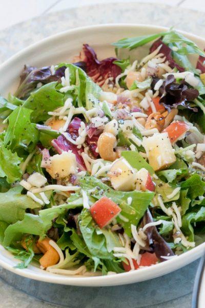 Apple Pear Spring Salad Mix