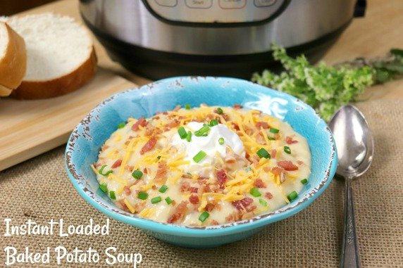 Instant Loaded Baked Potato Soup Recipe