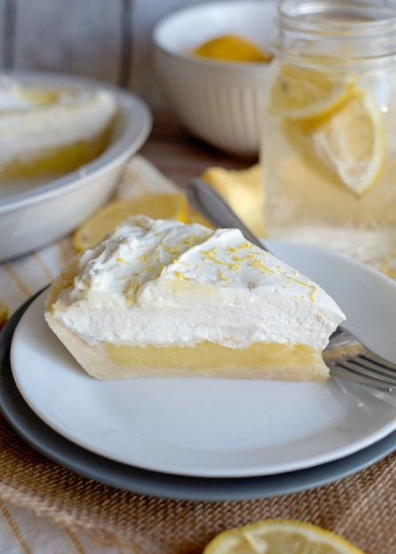 Lemon Sugar Cookie Pie
