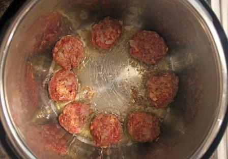 instant pot spaghetti & meatballs