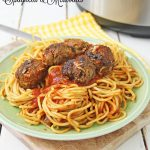The BEST Instant Pot Spaghetti & Meatballs