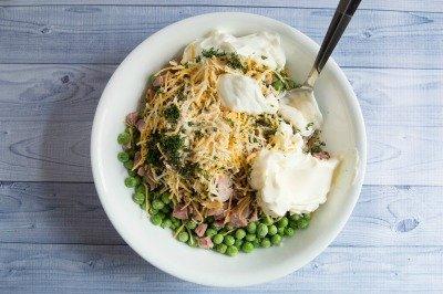 Easy Peasy Pea Salad