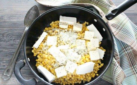 Loaded Cream Cheese Corn