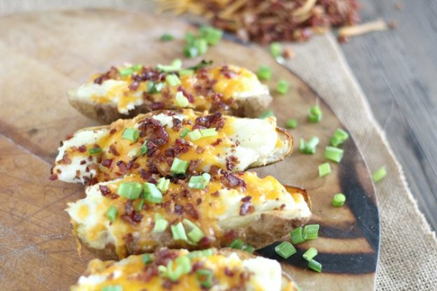 Loaded Ranch Twice Baked Potatoes