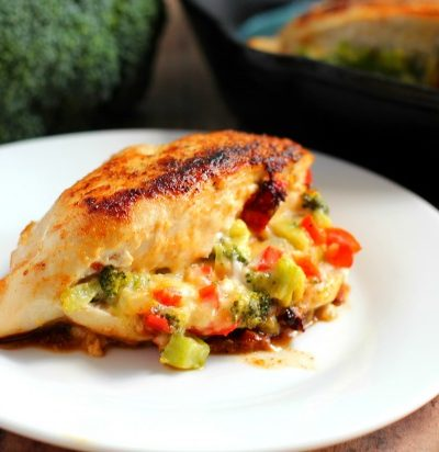 Broccoli Cheese Stuffed Chicken