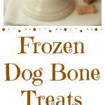 Frozen Dog Bone Treats