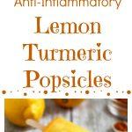 Lemon Turmeric Popsicles