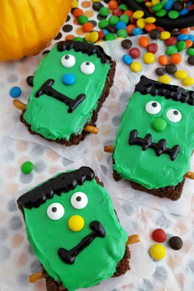 Frankenstein Brownies
