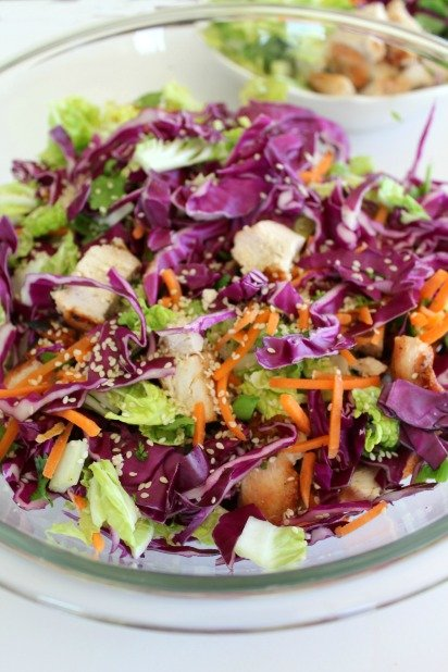 Keto Chinese Chicken Salad