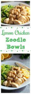 Lemon Chicken Zoodles