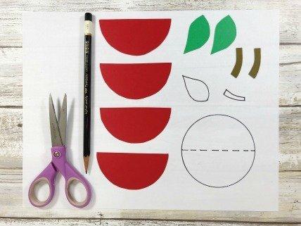 Apple Craft for Kids