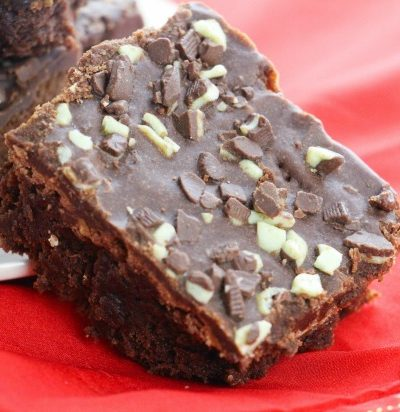Chocolate Mint Brownies + $20 Amazon GC #Giveaway {Ends 9/24}