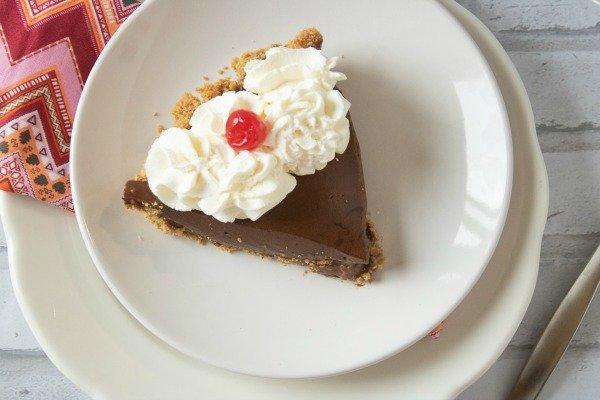 Chocolate Pie with Graham Cracker Crust