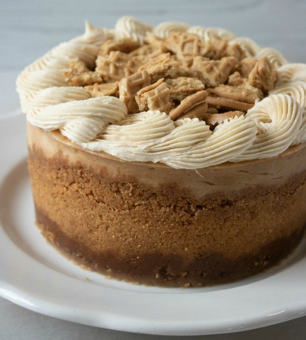 Instant Pot Nutter Butter Peanut Butter Cheesecake