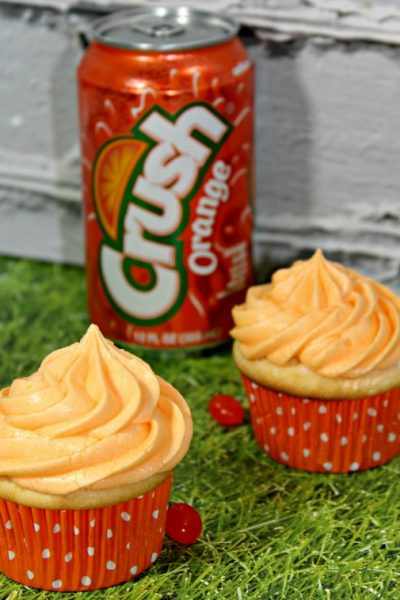 Orange Crush Cupcakes