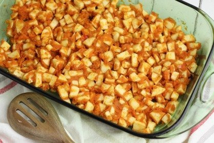 Pumpkin Apple Dump Cake