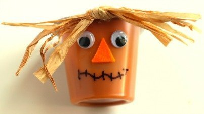 Scarecrow Pudding Cups
