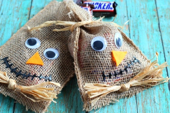 Scarecrow Treat Bags