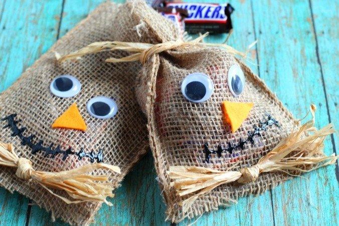 Scarecrow Treat Bags