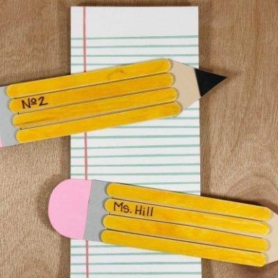 Wooden Stick Pencils Craft