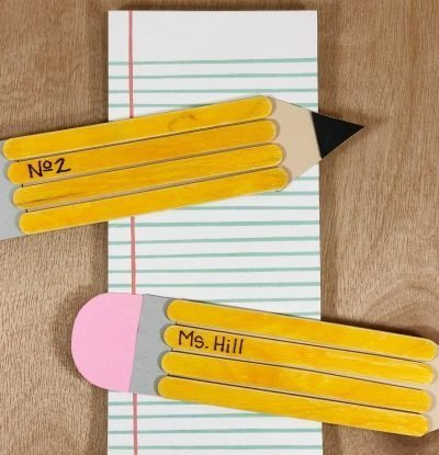 Wooden Stick Pencils Craft