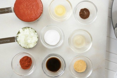 Homemade Barbeque Sauce Ingredients
