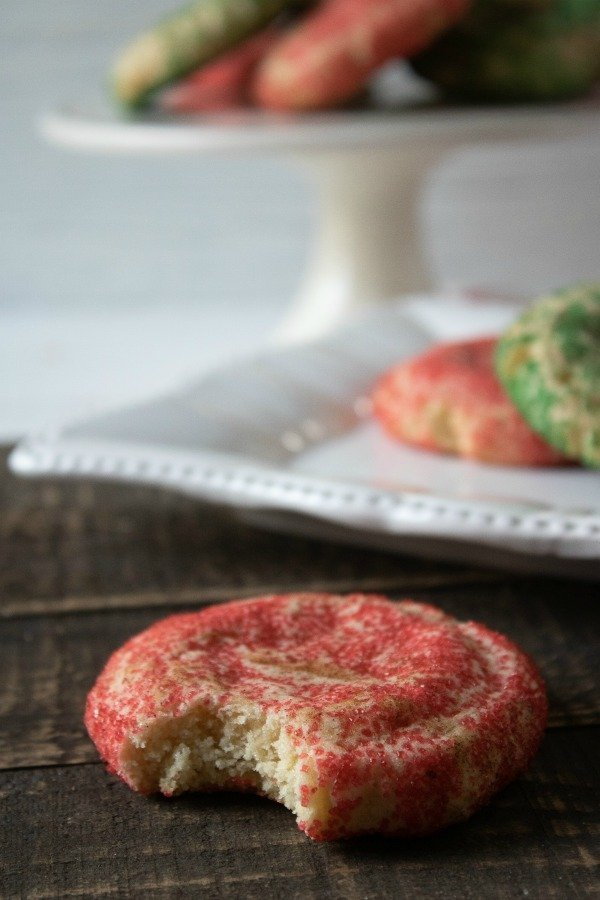 Peppermint Snickerdoodles