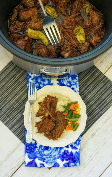Crockpot Mississippi Pot Roast