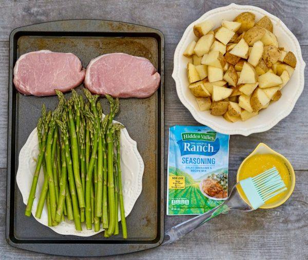 Oven Baked Ranch Pork Chops