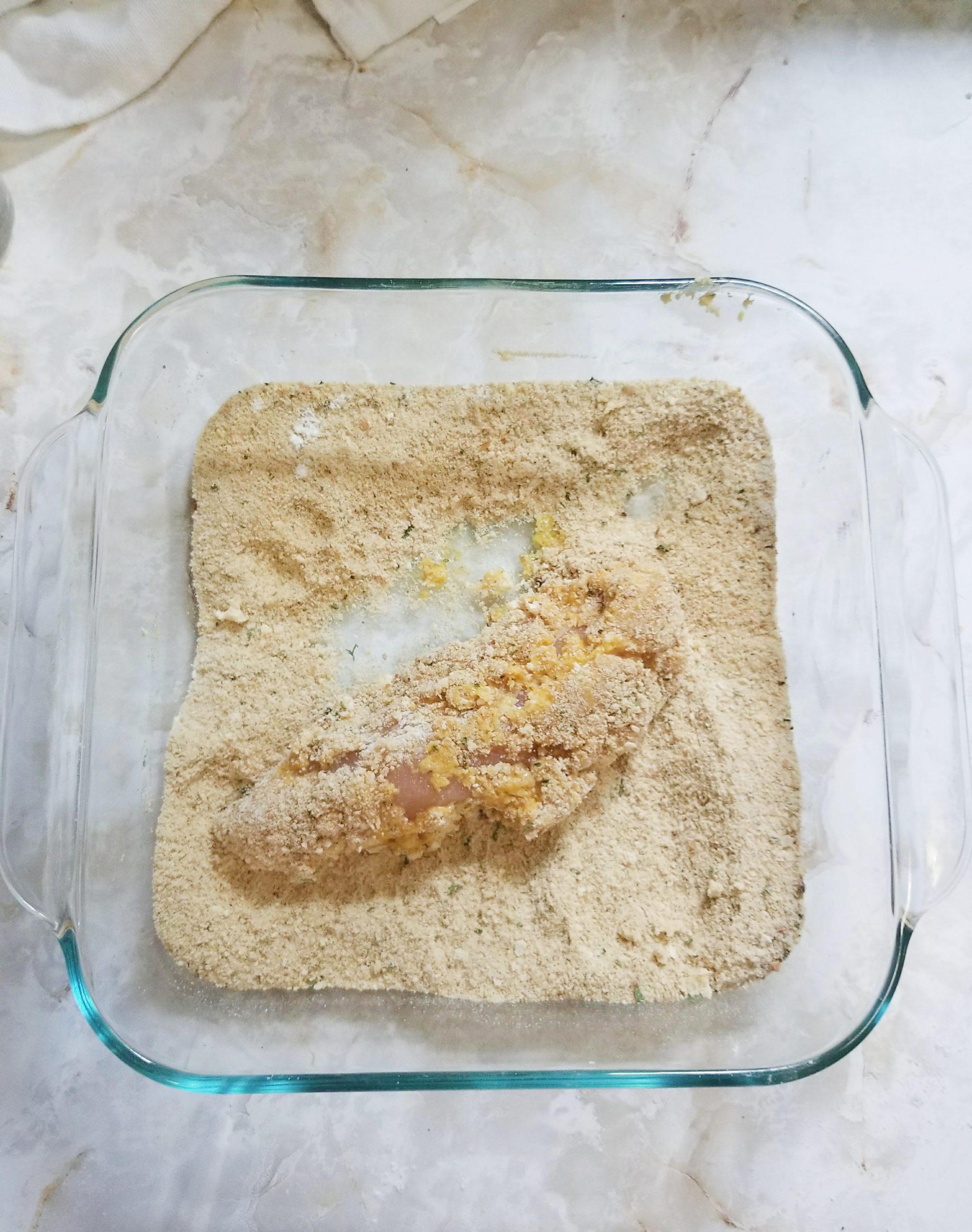 Breading Chicken Tenderloins