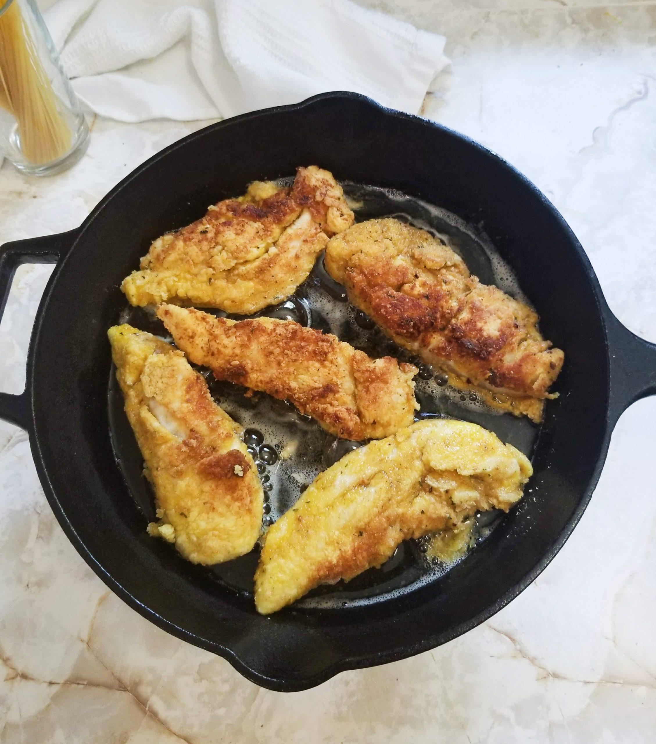 Cooked Chicken Tenderloins
