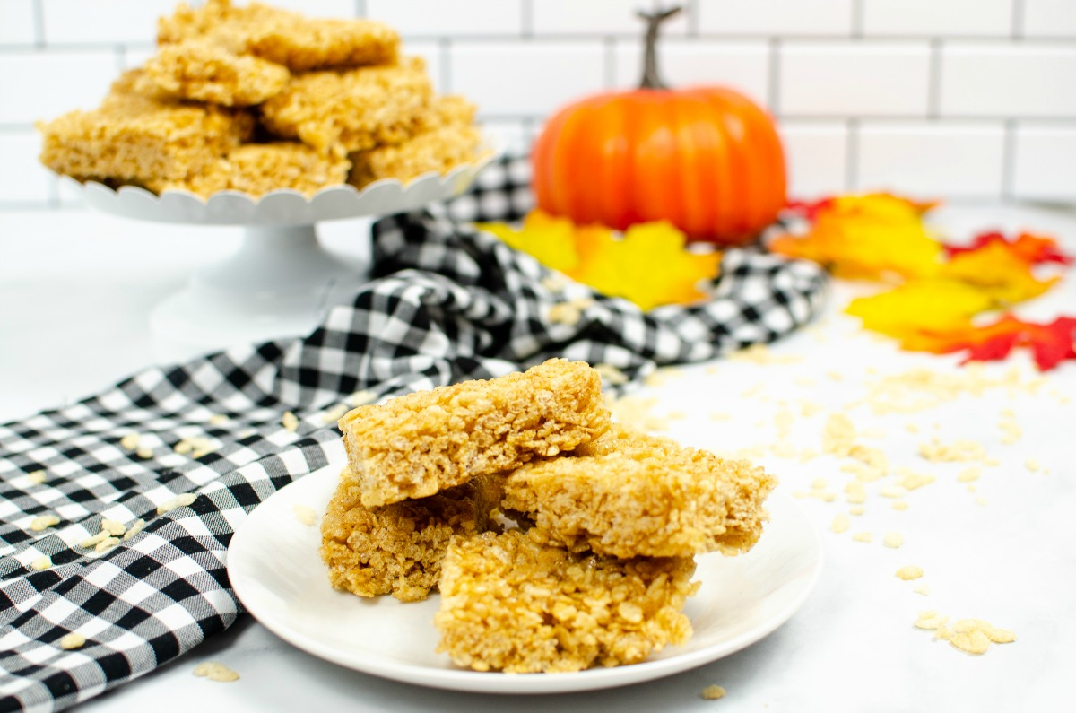 Pumpkin Rice Krispie Treat