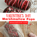 Valentine's Day Marshmallow Pops PIN