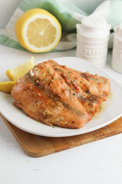 Brown Sugar Glazed Salmon