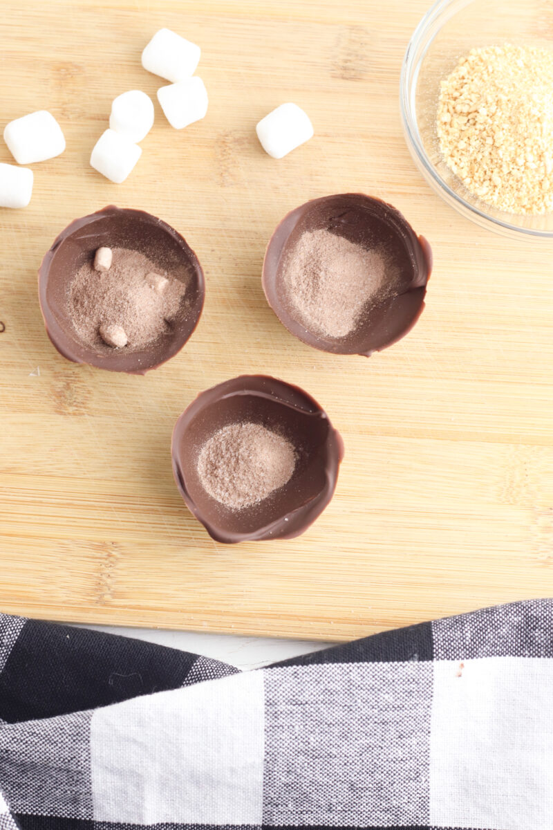 Smores Hot Chocolate Bomb