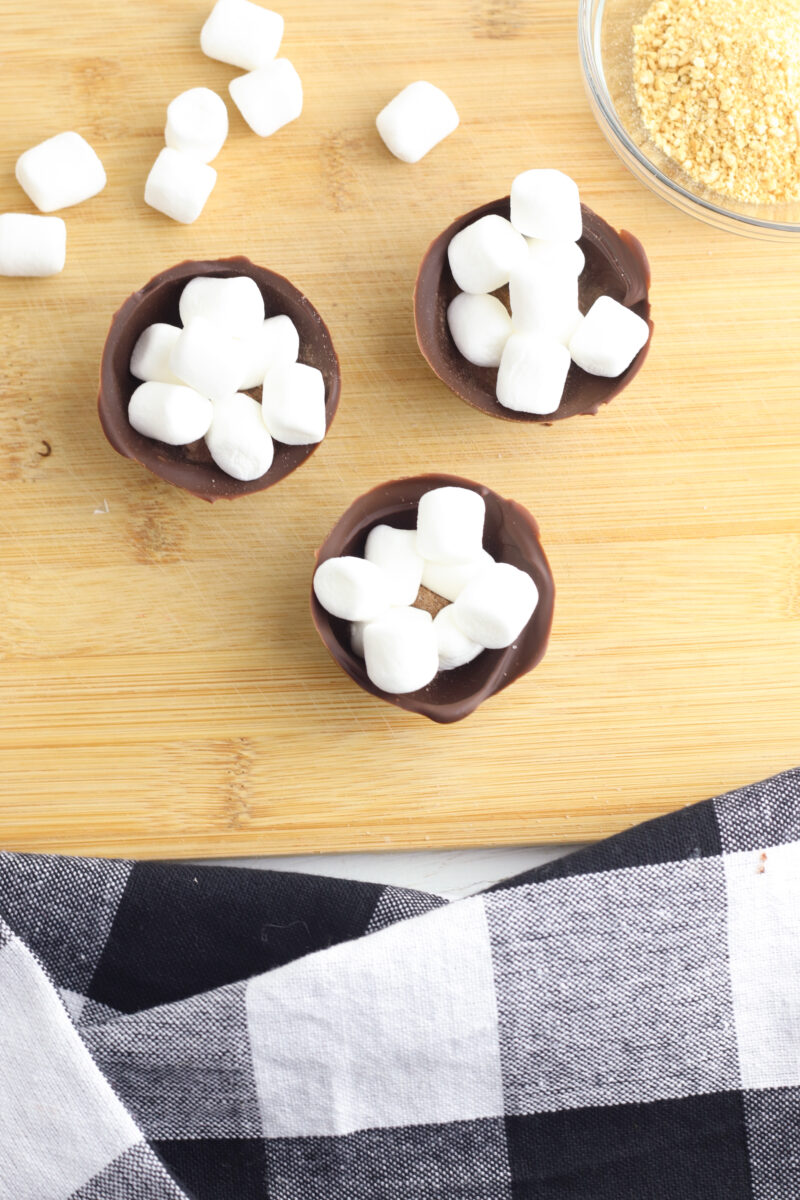 Smores Hot Chocolate Bomb