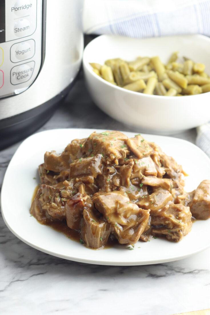 Instant Pot Round Steak