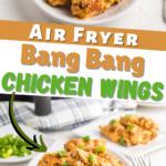 Air Fryer Bang Bang Chicken Wings