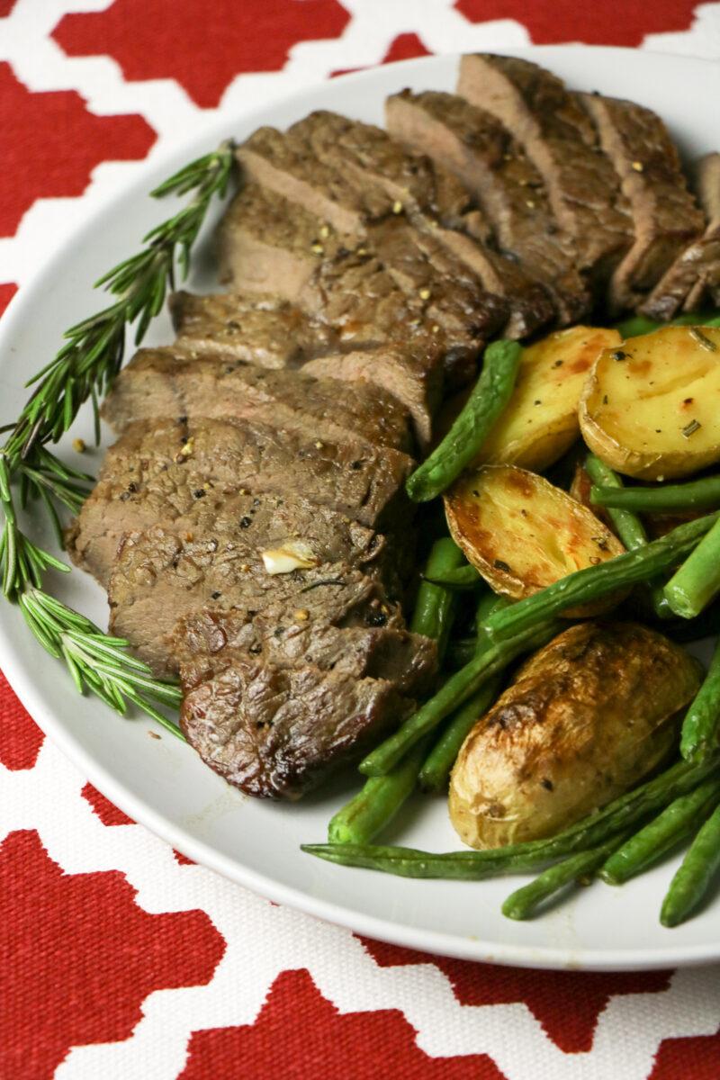 Sheet Pan Steak & Potatoes