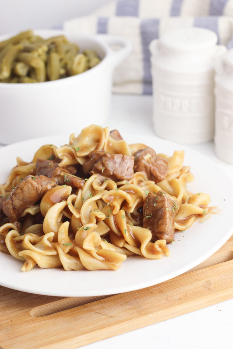 Beef and Noodles