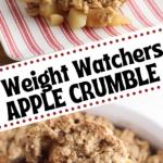 Weight Watchers Apple Crumble