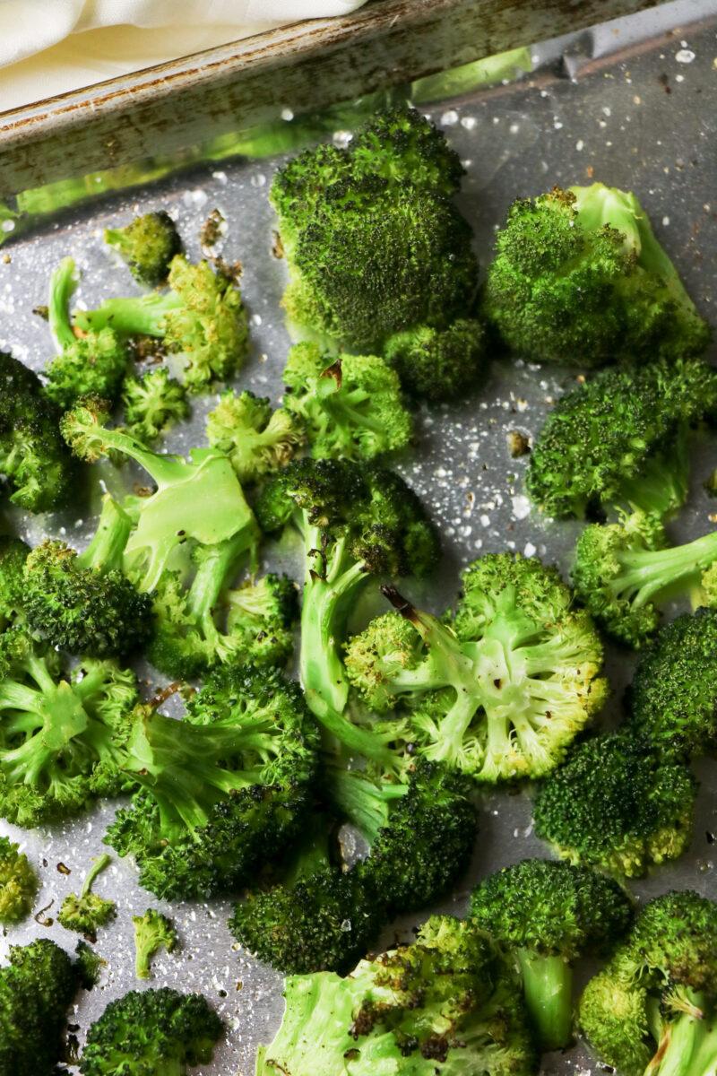 Sheet Pan Roasted Broccoli